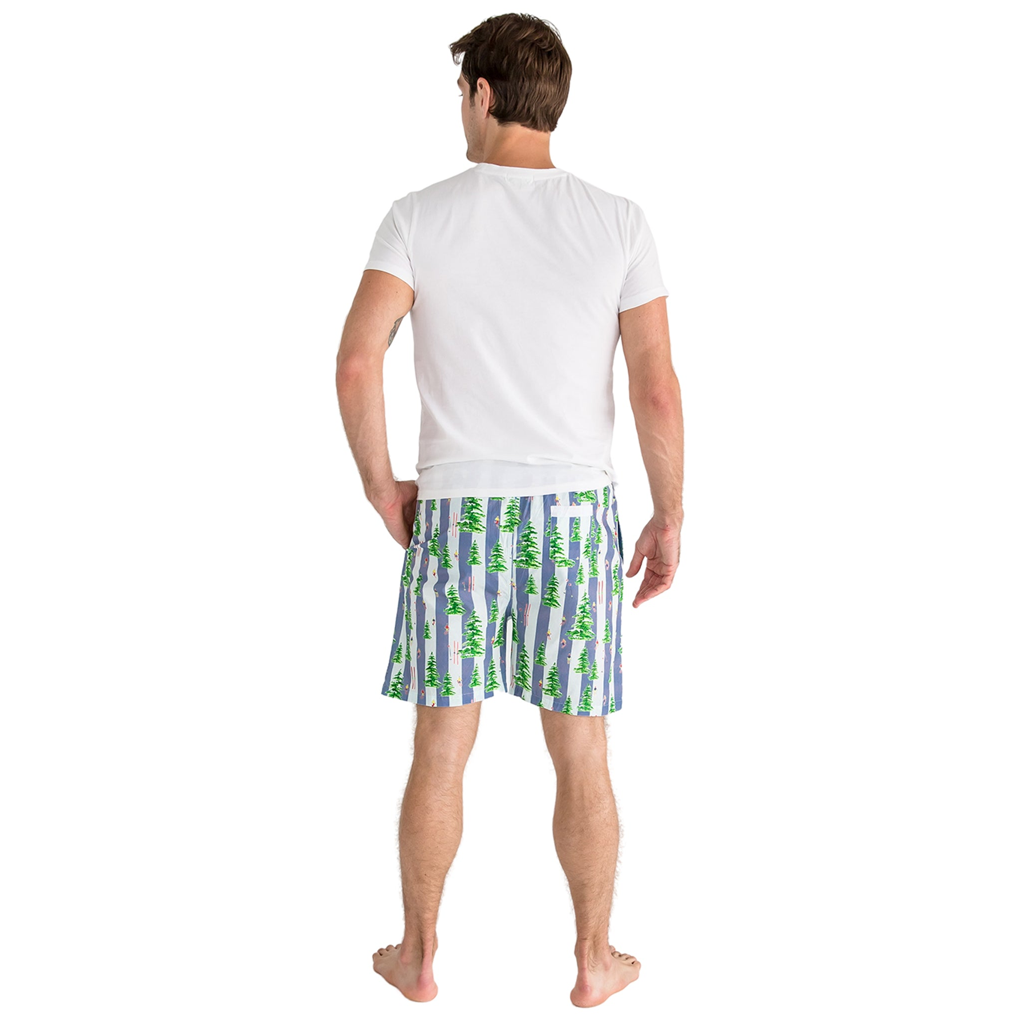 Men's Gray Malin Snow Sleep Shorts