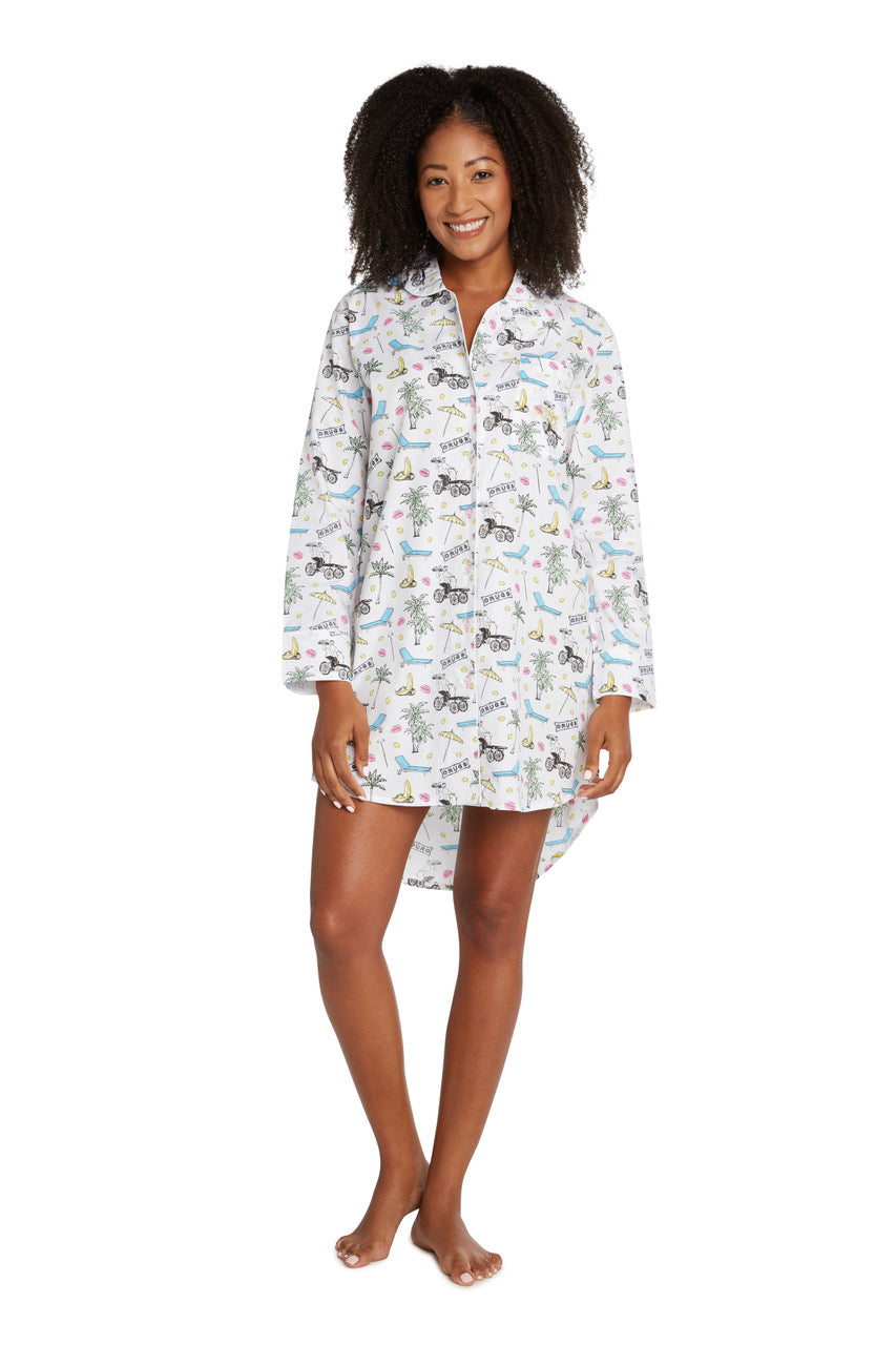 Women's Parker Night Shirt