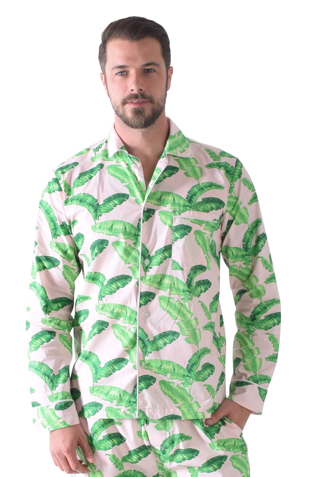 Men's Tropical PJ Shirt