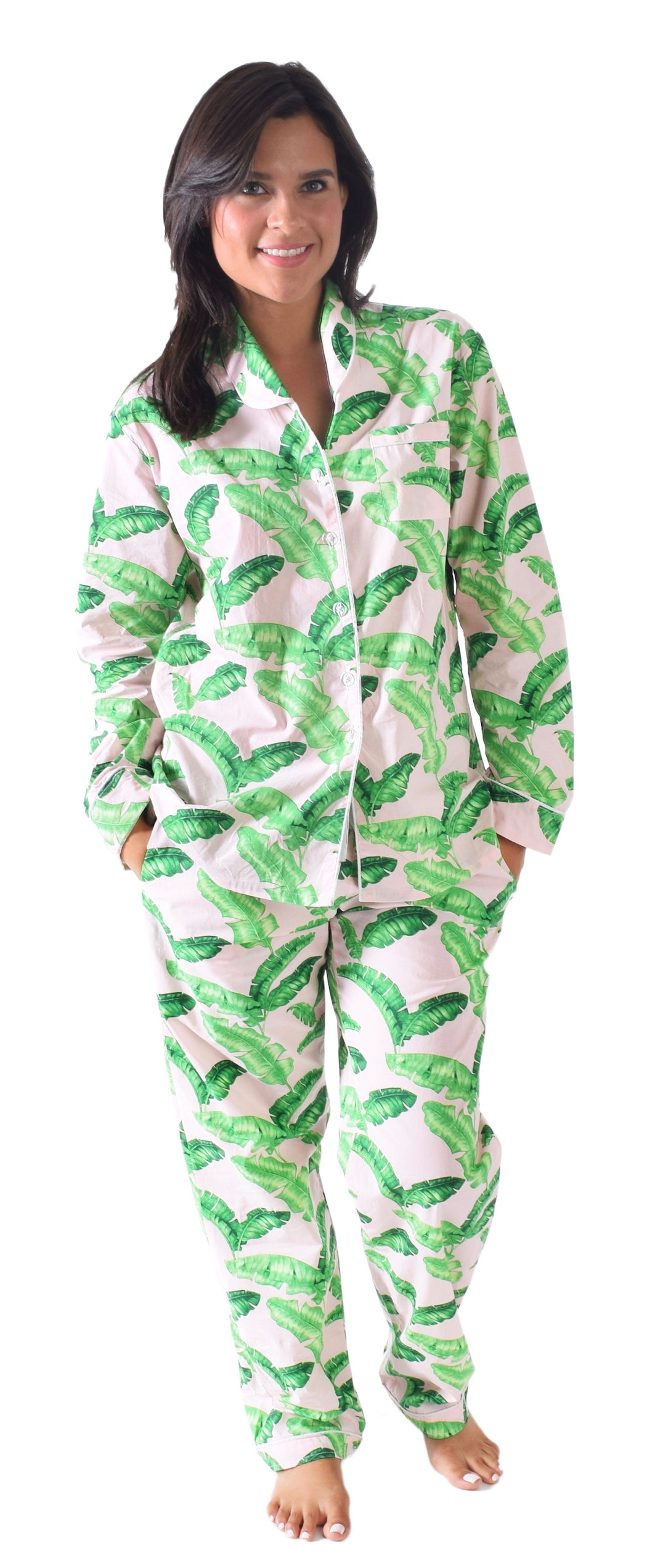 Women's Tropical Punch Shirt + Pant Set