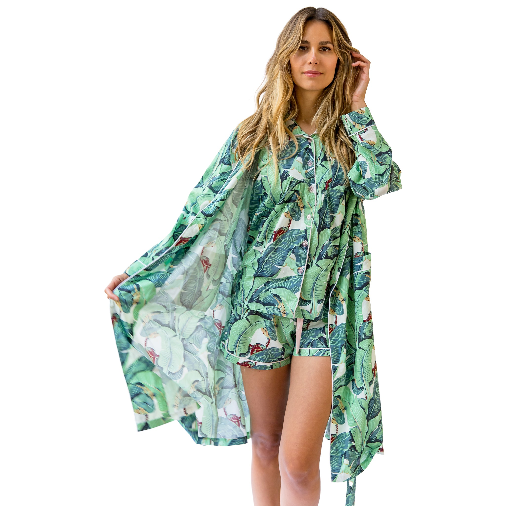 Women's Martinique® Banana Leaf Robe