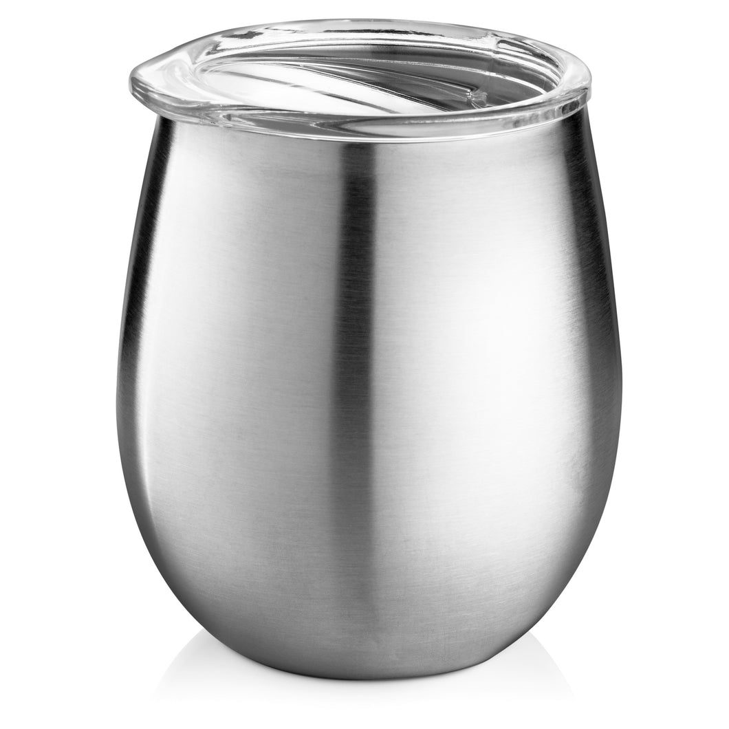 Double-Wall, Stainless Steel Wine Tumbler