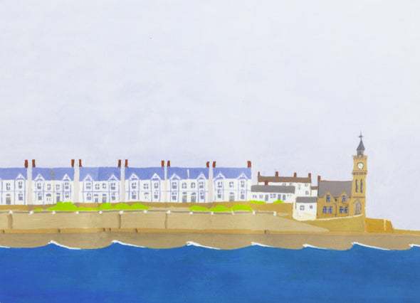 Porthleven Artwork Table Set