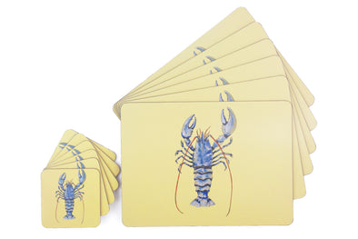 Blue Lobster Table Set