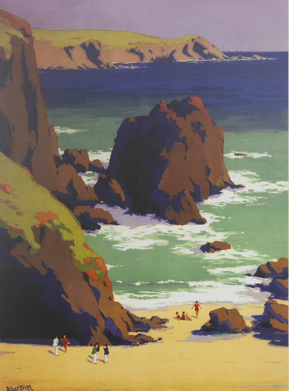 'Cornwall: The Cornish Riviera' GWR Poster