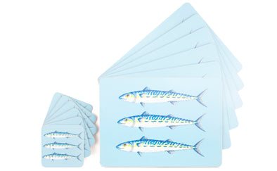Mackerel Table Set