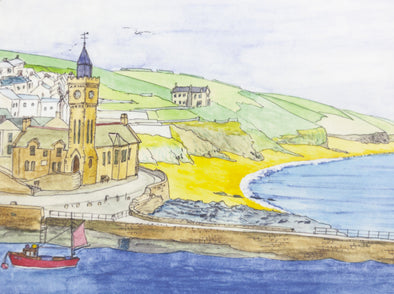 Porthleven Beach Placemat