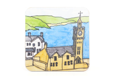 Porthleven Clocktower Coaster