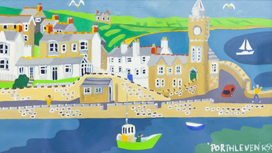 'Porthleven Springtime' by Richard Lodey