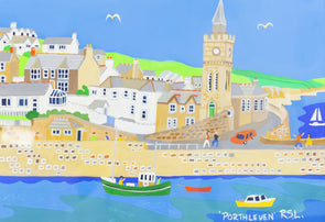 'Porthleven Summer'  by Richard Lodey