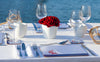 Red Spinnaker Table Set