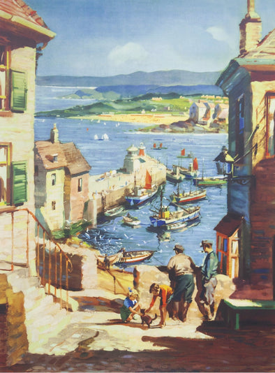 'St Ives Glorious Sands' GWR Poster
