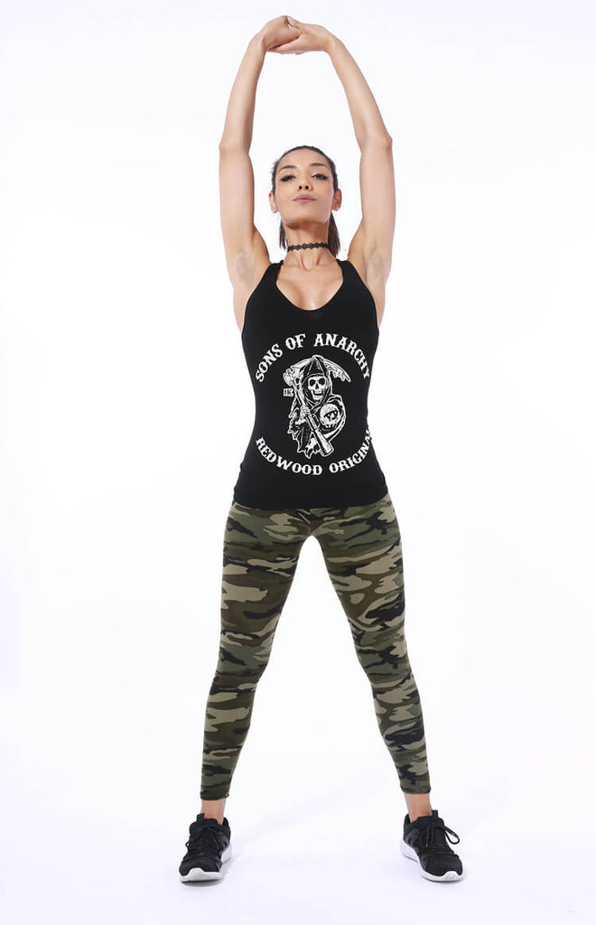 Milk Silk High Stretch Camouflage Leggings