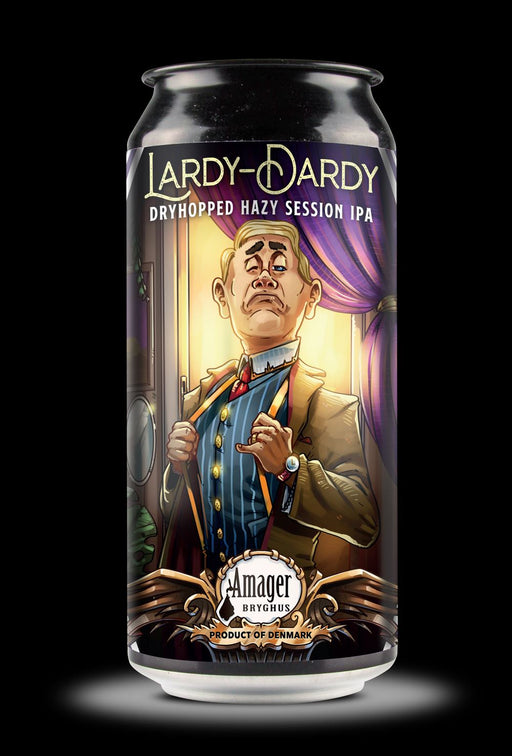 Amager Bryghus Lardy-Dardy Dryhopped Hazy Session IPA 4,5% 44cl