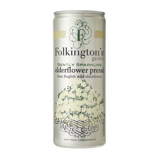 Folkington's Elderflower Saft 25 cl.