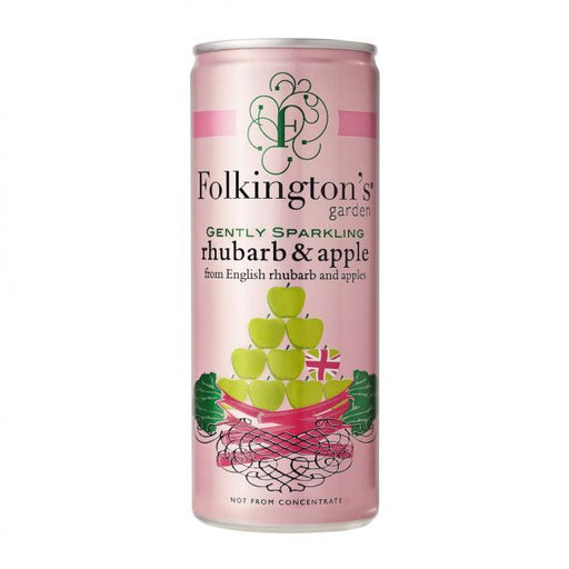 Folkington's Rhubarb & Apple Saft 25 cl.