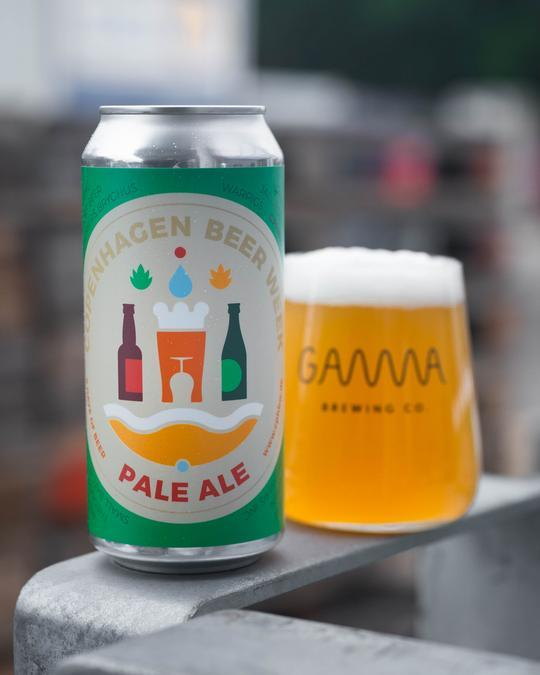 Gamma CPH Beer Week Pale Ale 5,0% 44 cl