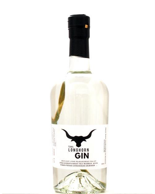 Texas Longhorn Gin Small Batch 40% 50cl