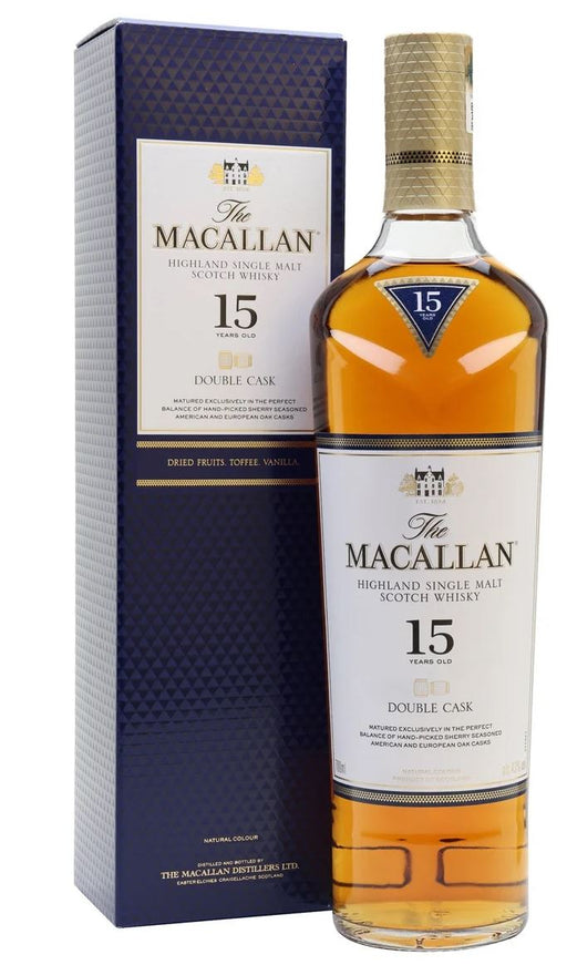 The Macallan 15 år Double Cask 43%