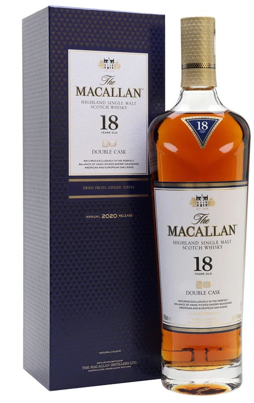The Macallan 18 years old Double Cask  43% - 2020 Release