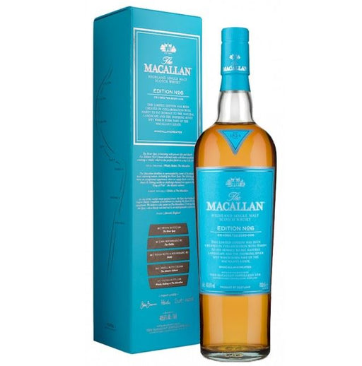 The Macallan Edtion No. 6 Single Malt Whisky 48,6%