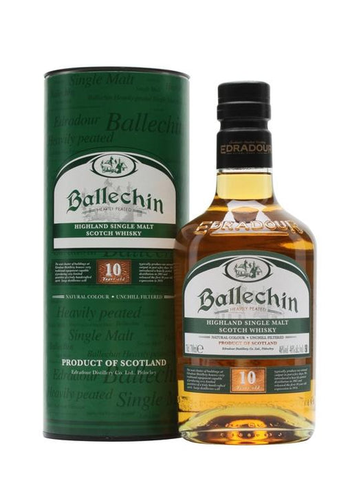 Edradour Ballechin 10 År Peated Cask Single Malt, 46%