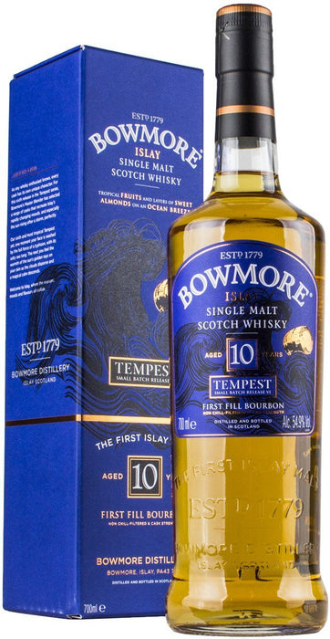 Bowmore Tempest 10 Years 54,9%