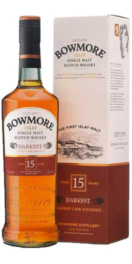 Bowmore Darkest 15 YO Single Malt 43%