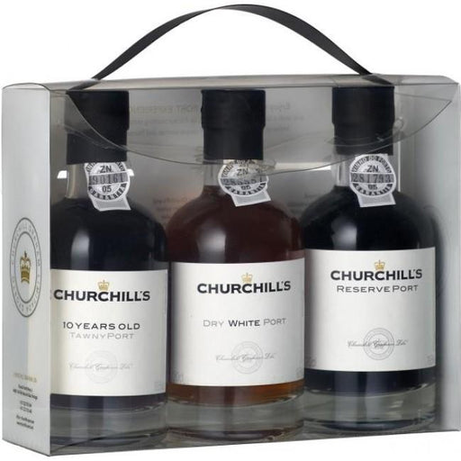 Churchill trepak portvin, Reserve port, Dry white Port, 10 Y.O. Tawny Port