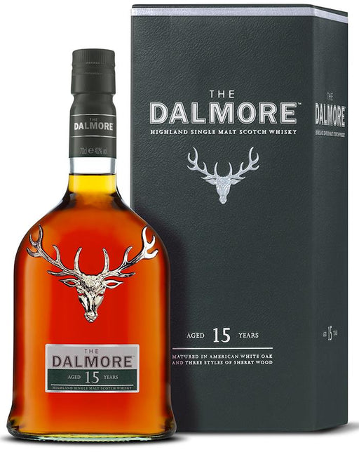Dalmore 15 år Highland Single Malt Whisky, 40%