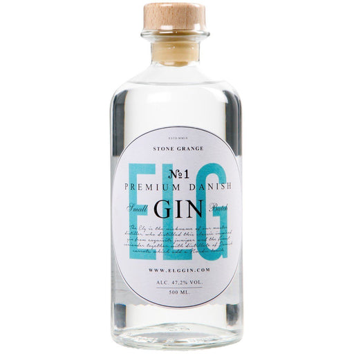 Elg No. 1 - Premium Danish Gin 47,2% 50cl