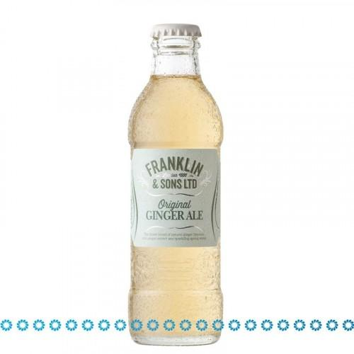 Franklin & Sons Ginger Ale Tonic Water 20 cl