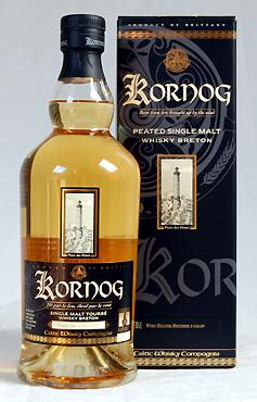 Kornog -  Glann Ar Mor Peated Whisky , 46%