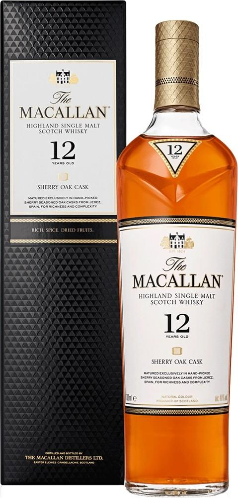 Macallan 12 år Sherry Oak 40% 70cl