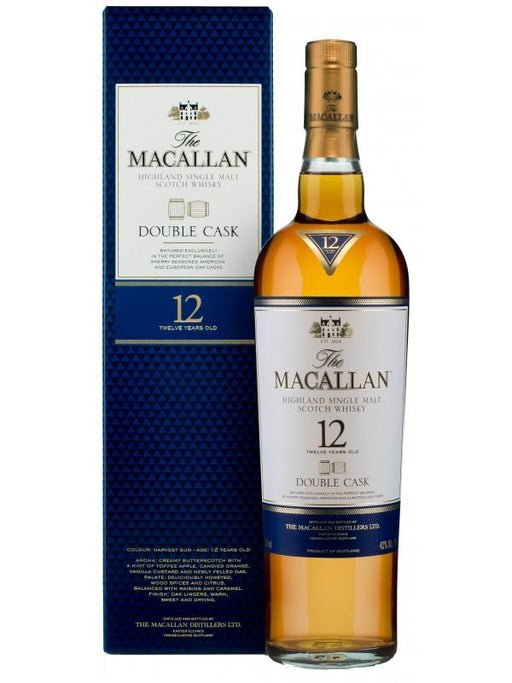 The Macallan Double Cask 12 YO Single Malt 40%