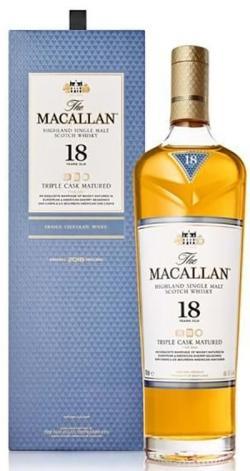 The Macallan Triple Cask 18 YO Single Malt 43%