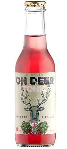 Oh Deer Økologisk Tonic Water Rabarber 200ml