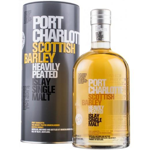 Port Charlotte Scottish Barley Heavily Peated 50%