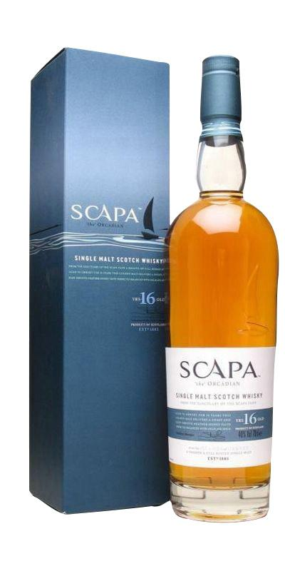 Scapa 16 Year old Single Malt whisky, 40%