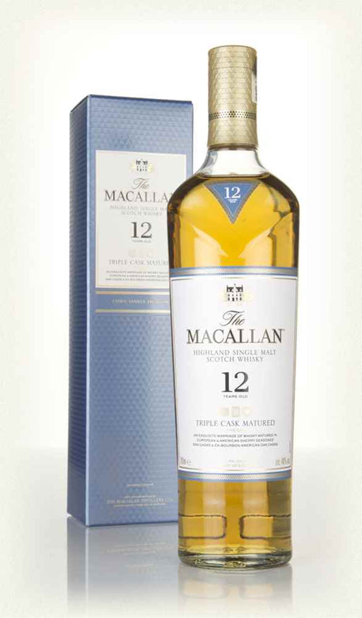 The Macallan Triple Cask 12 YO Single Malt  40%