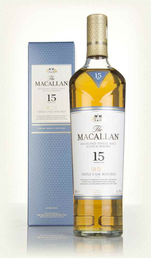 The Macallan Triple Cask 15 YO Single Malt 43%