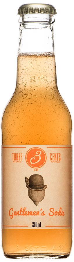 Three Cents Gentlemen's Soda 200ml