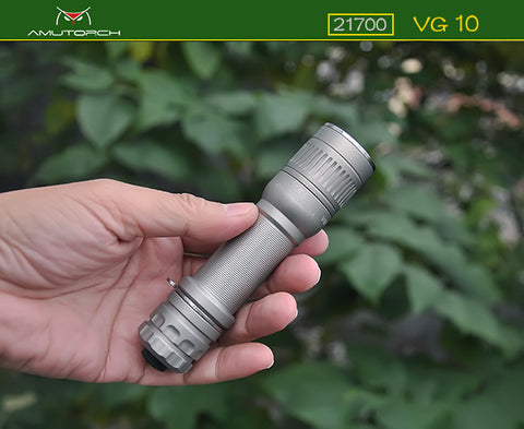 Amutorch New VG10 Osram 20W 620nm Red Light Tactical LED Flashlight