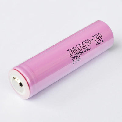 1PCS Samsung INR18650-30Q 3000mAh Unprotected Button Top 18650 Battery