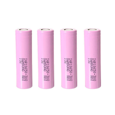4PCS INR18650-30Q 3000mah 20A Power 18650 Li-ion Battery for Samsung