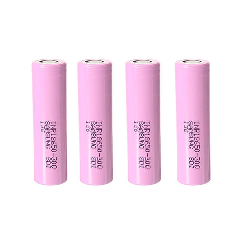 4PCS INR18650-30Q 3000mah 20A Power 18650 Li-ion Battery for Samsung COD