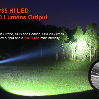 LUMINTOP ODL20C XHP35 HI 2000LM 860M Thrower 26650 Flashlight
