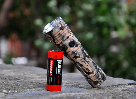 WUBEN T70 Camouflage XHP70.2 4200Lumens 26650 LED Flashlight