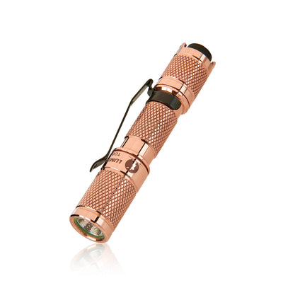 LUMINTOP Copper  Brass Tool AAA Special Mini Keychain EDC Flashlight