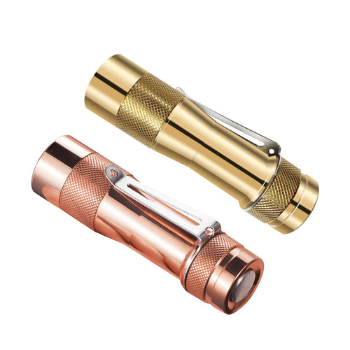 TLF/BLF FW3C Copper/Brass CREE XPL HI 2800lm EDC LED Flashlight Andúril UI